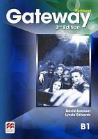 Рабочая тетрадь Gateway 2nd edition B1 Workbook