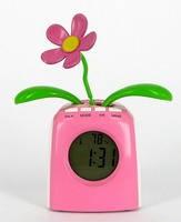 Будильник з квіткою Flip Flap
