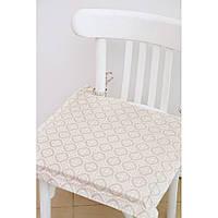 Подушка на стул с ушками Прованс 40х40 Ажур