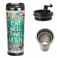 Термокружка Eat and travel