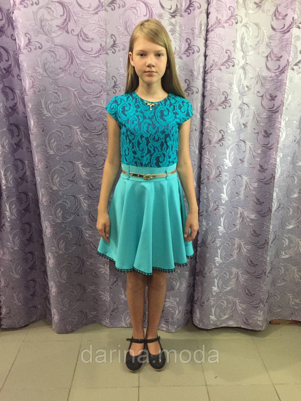 Красивое детское платье 122 см
