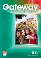 Учебник Gateway 2nd edition B1+ Student's Book Pack
