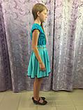 Красивое детское платье 122 см, фото 2