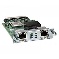 Модуль Cisco 2-Port 3rd Gen Multiflex Trunk Voice/WAN Int. Card - T1/E1 (VWIC3-2MFT-T1/E1=)