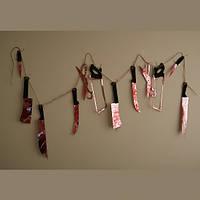 Гирлянда Ножи с кровью