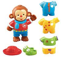 VTech развивающая игрушка Одень обезьянку Dress and Discover Friend