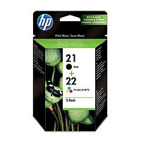 Картридж HP No.21/22 Black/Tri-color Combo Pack (SD367AE)