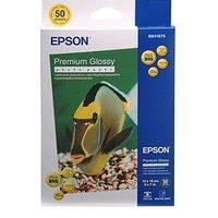 Фотобумага A4 EPSON Premium Glossy Photo Paper, 50л.
