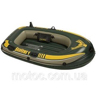Надувная лодка 193*108*38 см Intex (Интекс). Лодка 68345