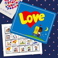 Шоколадный набор Love is (100 г)