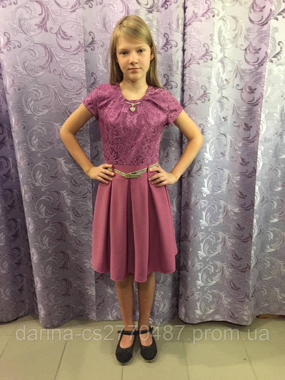 Платье для девочки подростка 140,146 см