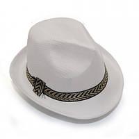 Шляпа Федора (белая)
