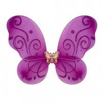 Крылья Бабочки маленькие (малиновые) 38х29 см