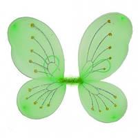 Крылья Бабочки средние (салатовые) 50х40см