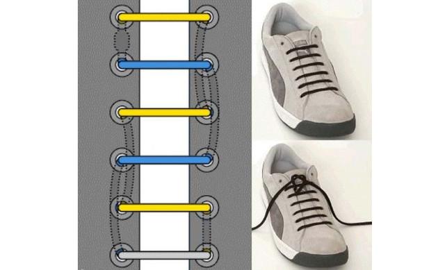 Как шнуровать кроссовки 2