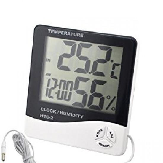 Цифровой термометр, часы, гигрометр  - Интернет-магазин подарков TVOYO  в Киеве