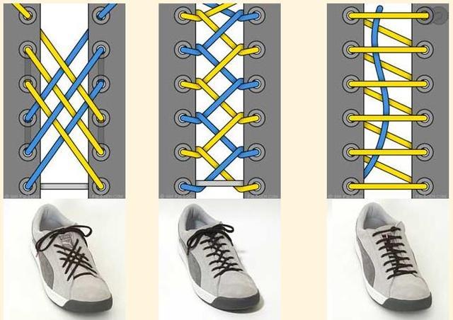 Оригинальныя шнуровка сникерсов