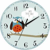 Настенные Часы Vintage Сова на дереве