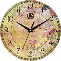 Настенные Часы Vintage Цветочная Фантазия