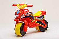 Беговел Active Baby Police музыкальный Красно-желтый