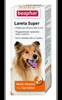 Beaphar Laveta Super 50мл - от линьки, для здоровой кожи и красивой блестящей шерсти собак(12554)