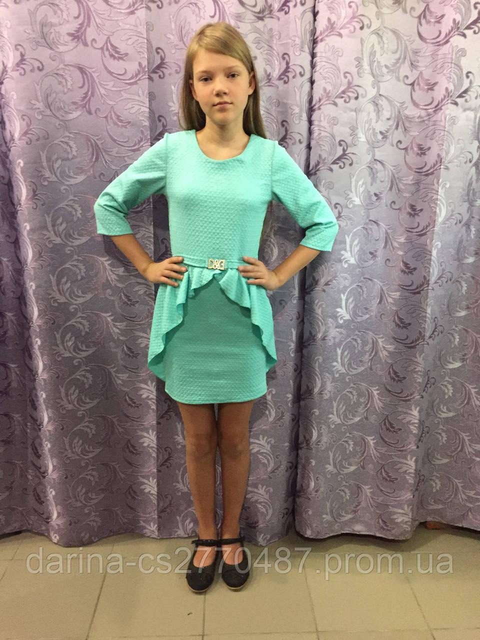 Платье для девочки 134,140 см