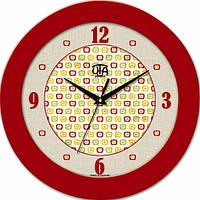 Настенные Часы Fashion Яблочки Red