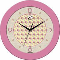 Настенные Часы Fashion Цветочки Pinck