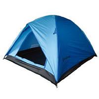 Туристическая/кемпинговая палатка трехместная King Camp FAMILY 2 + 1 , двухслойная 3-местная