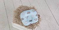 Подушка для новорожденных Барашки