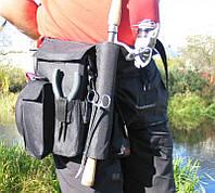 ТОП ВЫБОР! Держатель для удилищ на пояс Stakan-7 ideaFisher 4001506 держатель для удочки, Держатель для удилищ, сумка для удилищ, пояс держатель для
