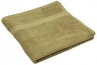 Махровое полотенце кофейное 40х70