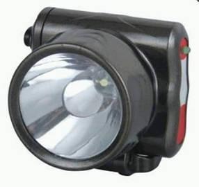 Фонарь светодиодный YJ-1829-1 аккумуляторный, налобный 1 LED