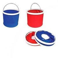 ТОП ВЫБОР! Складное ведро Foldaway Bucket на 9 литров - 5000285 - складное ведро, foldable bucket, тканевое ведро, походное ведро, ведро легкое