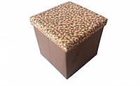 Короб складной многофункциональный с емкостью для хранения Рыжая Клеточка