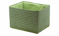 Короб Вязанка без крышки складной S Зеленый