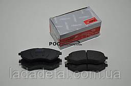 Колодки передние Авео Aveo Т200-250 Rider 96534653
