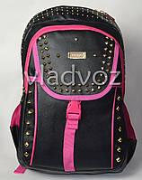 Рюкзак для девочки подростка черный Edison