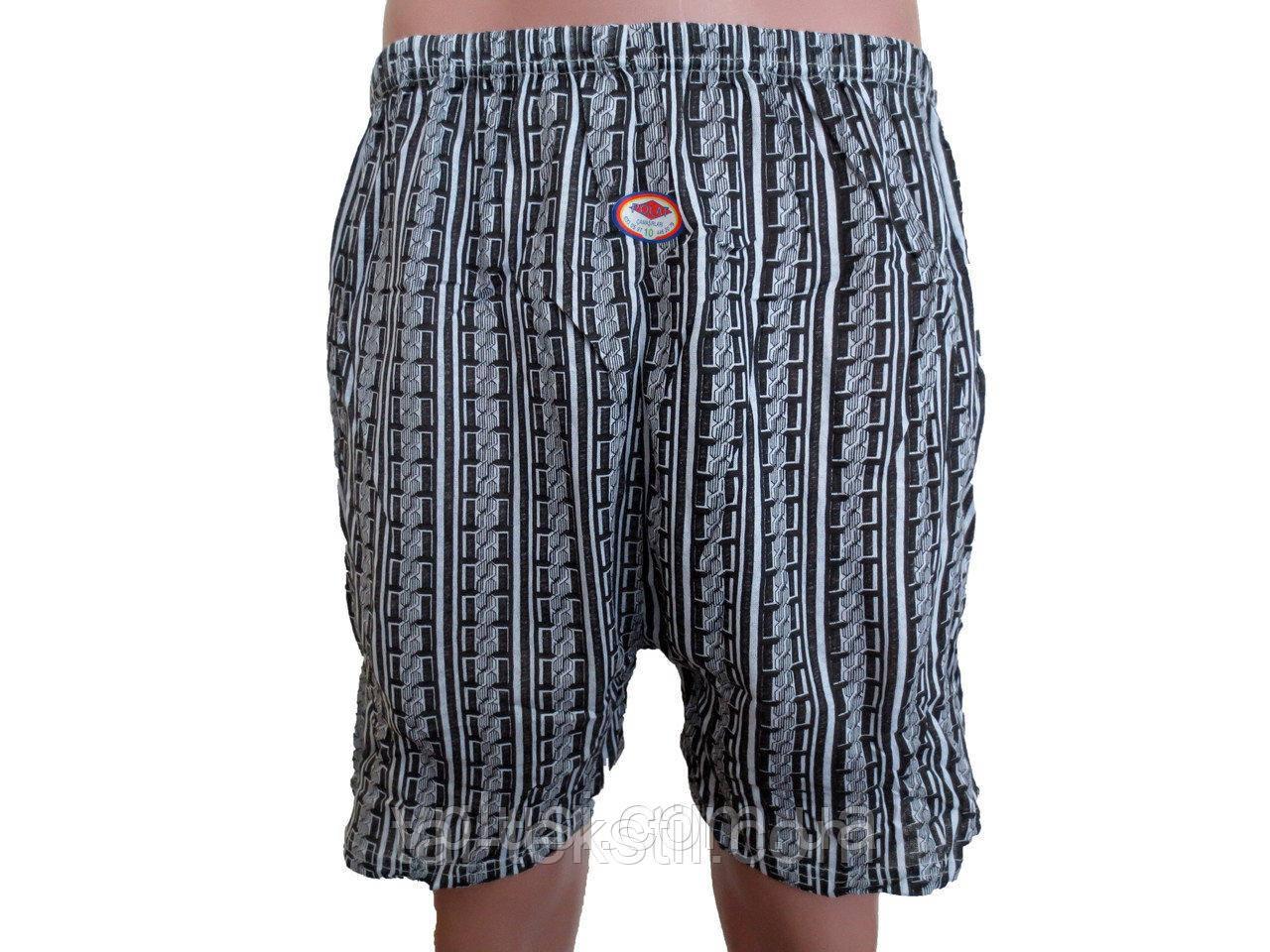 Трусы мужские шортами POLAT рисунок в ромбик №10 (50-54р)