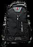 Практичный мужской рюкзак черного цвета PYY-001113