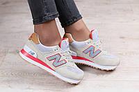 Модные женские  кроссовки 2017 New Balance серые