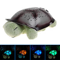 Новогодние подарки -- Черепаха ночник проектор со звуком, черепаха ночник со звуком, черепаха ночник со звуком опт, нічник, дитячий нічник,