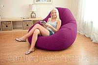 Велюр кресло Бордо Intex 68584