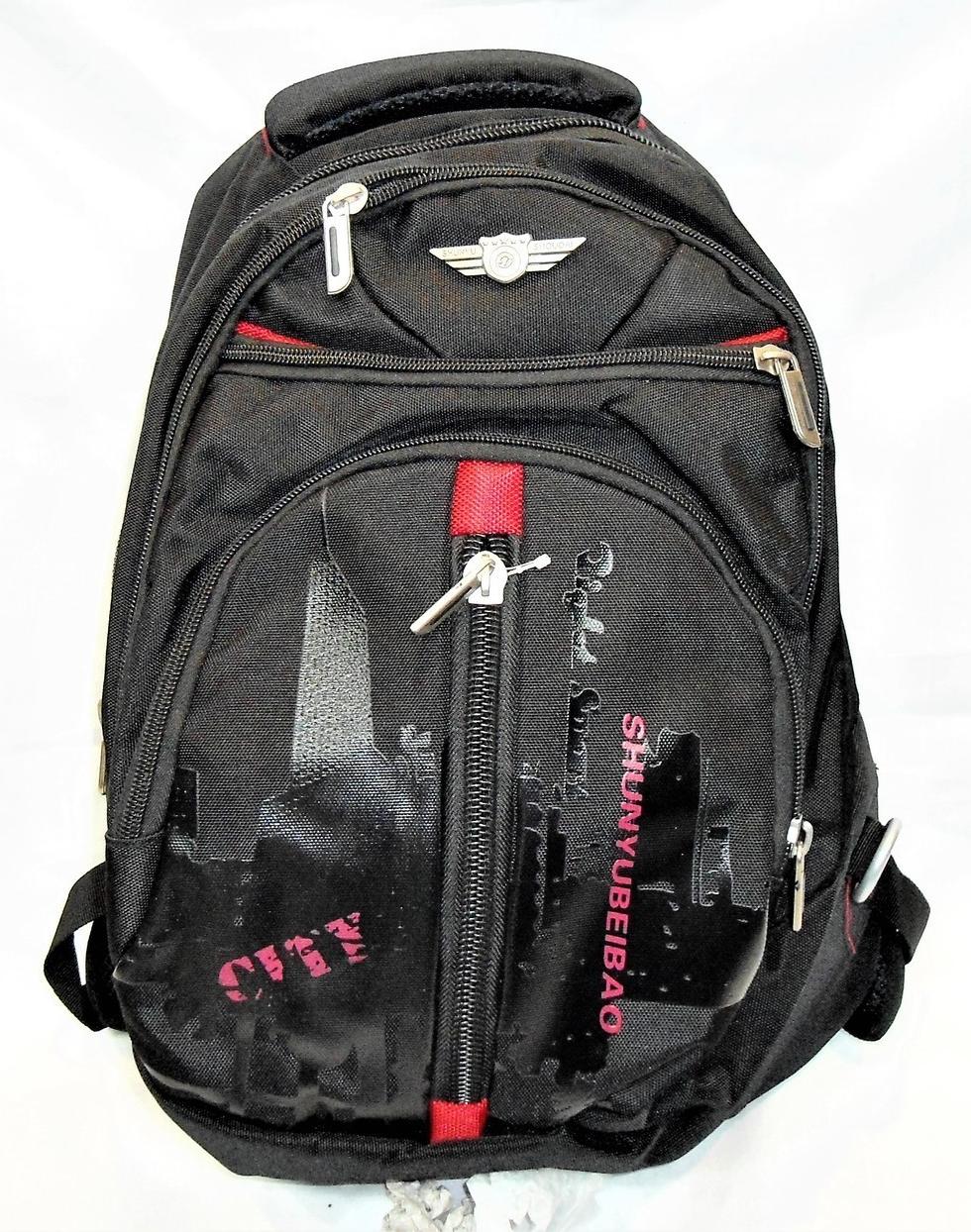 Отличный мужской рюкзак черного цвета PVY-053155, фото 1