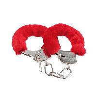 Пухнасті металеві наручники для закоханих Party / Меховые пушистые наручники любимым Пати