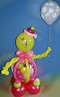 Клоун с шариком.