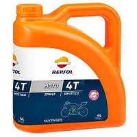 Масло моторное Repsol MOTO SPORT 4T 10W40, 4 L
