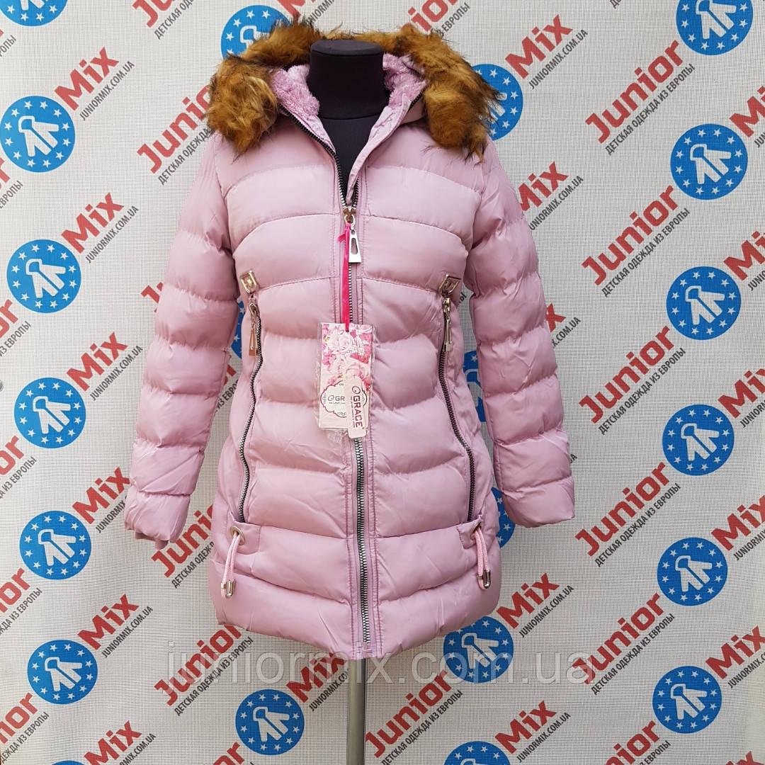 e640fc8c365986 ВЕНГРИЯ, фото 2 GRACE зимние детские подростковые куртки для девочек оптом.