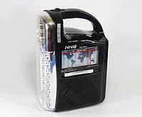Радио колонка с проигрывателем MP3 с фонарем 040U