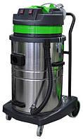 Профессиональный пылеводосос 3-х турбинный 70л. для сухой и влажной уборки.